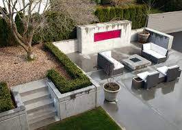 modern concrete patio designs. Concrete Backyard Design Breathtaking Fascinating Modern Patio Designs For Home Pictures . D