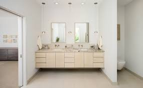 image top vanity lighting. Modren Vanity Scandinavian Lighting Bathroom With Light Hardwood Finish Top  Vanities Tops For Image Top Vanity Lighting
