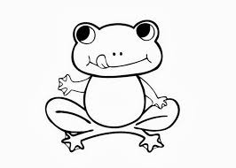 Small Picture Print Download Frog Coloring Pages Theme for Kids