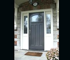 White front door with glass Entry Front Door With Panels Rainbowmansion Org Doors Glass Side Idea 32 Dripsetco Glass Front Doors Design Modern With Within Side Panels Prepare 20