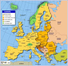 download map of europe and seas major tourist attractions maps for