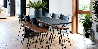 the flo dining table from hunter furniture