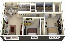2 bedroom house design philippines luxury 50 3d floor plans lay out designs for 2 bedroom house or apartment