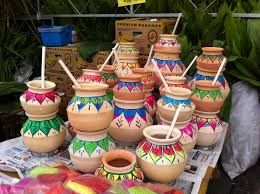 Indian Festival Decoration 14 Jan 2013 Pongal Clay Pot Decorations For Pongal Festivaljpg