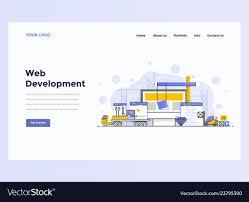 Web Design Flat Design Web Design Flat Modern Concept Web Development