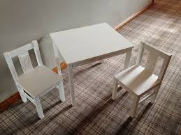kids learnkids furniture desks ikea. CHILDS / KIDS TABLE AND CHAIRS SET - IKEA KRITTER RANGE WHITE VERY GOOD Kids Learnkids Furniture Desks Ikea