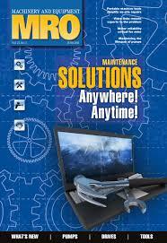 Machinery & Equipment MRO June 2011 by Annex Business Media ...