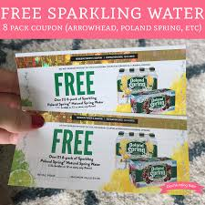 Sparkling Image Coupons Free Sparkling Water 8 Pack Coupon Arrowhead Poland Spring