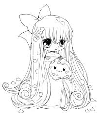 Coloring Pages Chibi Coloring Pages Easy Anime New Cotton Candy