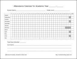 Attendant Sheet School Class Register My Generation School Levels