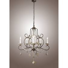 living amazing metal and crystal chandelier 0 ceiling lights 29 vintage french country cau 5 light