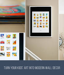 on pictures into wall art with turn kids art into modern wall decor itsy art