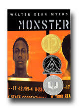 bibliography walter dean myers book monster monster by walter dean myers