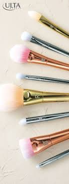 ulta makeup brushes price. how pretty are these metallic makeup brushes? putting on gets glam with real ulta brushes price