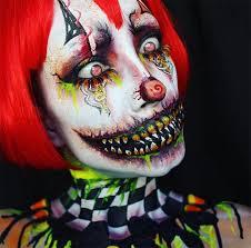 creative makeup ideas candy corn clown makeup