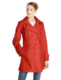 get ations anne klein women s double ted trench coat