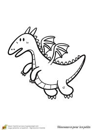 Coloriage D Un Dinosaure Pour Les Petits Un Dragon Coloriage Pour Enfant Un Petit Dinosaure T Rex L