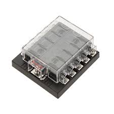 best quality high quliaty univesal car fuse box 10 way circuit 32v high quliaty univesal car fuse box 10 way circuit 32v dc waterproof blade car fuse holder box block 0 25a auto boat fuse box