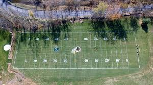 Custom Mini Field Of Dreams  Georgia Backyard And YardsFootball Field In Backyard