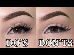 best makeup for hooded eyes lets talk about lashes
