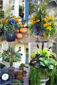 22 beautiful fall planters for easy