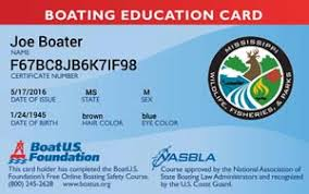 Safety Boatus Mississippi Course Boating Foundation