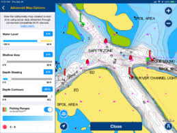 Navionics Sonar Charts Adding Color To Facilitate Reading