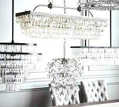 pottery barn clarissa chandelier crystal drop round chandelier glass drop chandelier glass drop rectangular chandelier by
