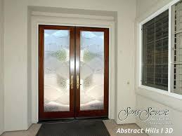 etched glass front doors s acid etched front door glass