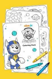 Sea Patrol Coloring Pack