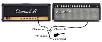multi amp rigs 101 seymour duncan splitting your guitar signal a simple y