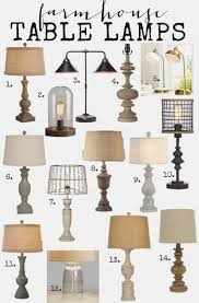 lamp country table lamps decor primitive with shade for bedroom