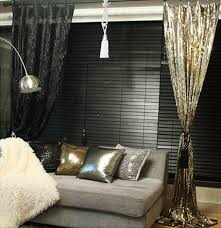 gold sequins drops embellished metallic dry curtain crystal beaded curtain