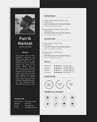 Simple Resume Template One Page Resume Templates 15 Examples To