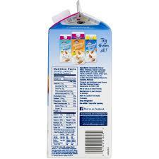 blue diamond almond breeze unsweetened vanilla almond milk 0 5 gal walmart