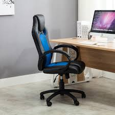 Computer Desk And Chair High Back Race Car Style Bucket Seat Office Desk Chair Gaming