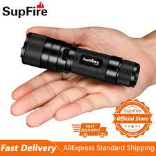 Đèn Pin Supfire F3 XPE Chiến Thuật Đèn Pin LED Mini Ngoài Trời Xe Đạp Đèn  Pin Xách Tay Sạc Đèn Pha Tìm Kiếm Cắm Trại Tự Vệ Đèn|Đèn Pin LED