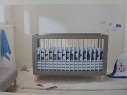 crib bedding set two by 4pc cloud island gray