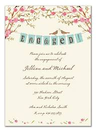 Engagement Invitation Format Custom Engagement Party Invitation Wording Casual Engagement Party Invite