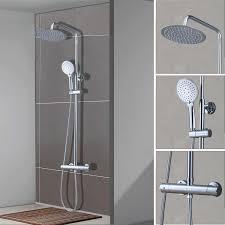 Duschset Duschkopf Duscharmatur Duschsystem Duschstange Regendusche Brause