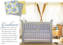 serena and lily graham three piece crib set