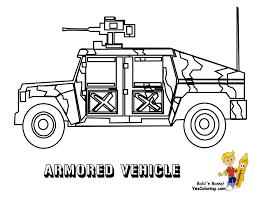 army coloring pages gusto armored vehicle yescoloring