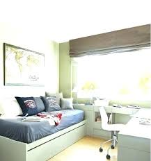 Guest Bedroom And Office Combination Modern Concept Small Guest