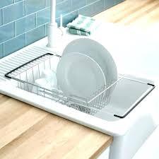 dish rack costco dish drainers kitchen sink tray drainer rack dish drainers drying rack red kitchenaid