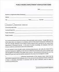 Employee Verification Form - Radioberacahgeorgia.tk