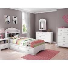white bedroom furniture for girls. tiara twin platform configurable bedroom set white furniture for girls r