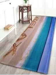 turquoise bathroom rugs hot beach theme c fleece floor rug gray and