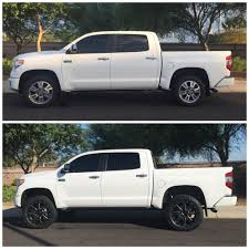 2016 Tundra Platinum lift and wheels | Toyota Tundra Forum