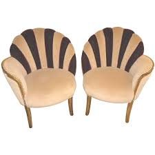 art deco era furniture. Furniture Art Deco Style. High Style Fan Backed Side Chairs Seating Items Era