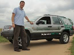 sa man converts his jeep to electric power